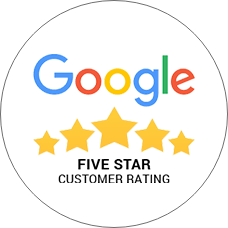 Google Five Star Customer Rating